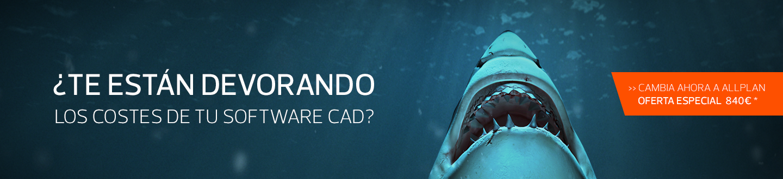 ¿Te están devorando los costes de tu software CAD? Cambia ahora a Allplan.