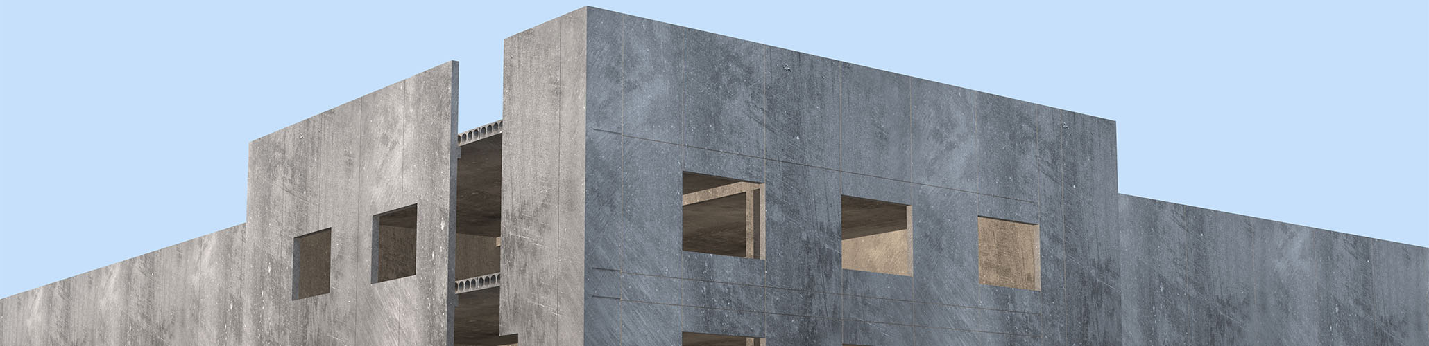 rendering precast building-1