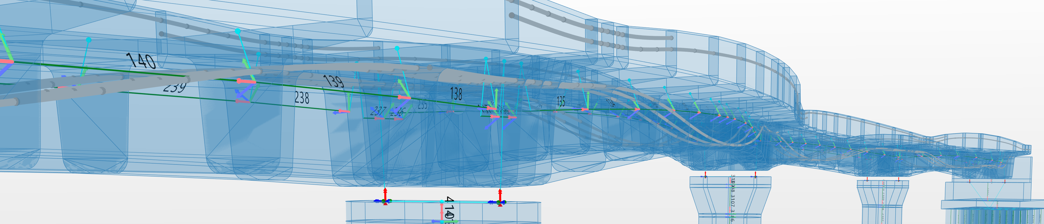 Allplan Bridge: Detailing and rebar modeling